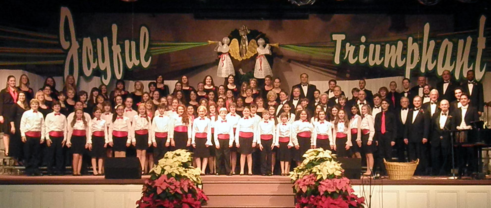 Celebration Singers Combined Choirs